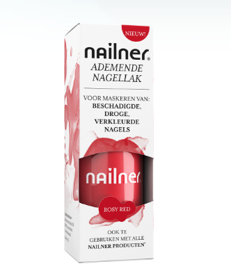 Nailner Nagellak Rosy Red