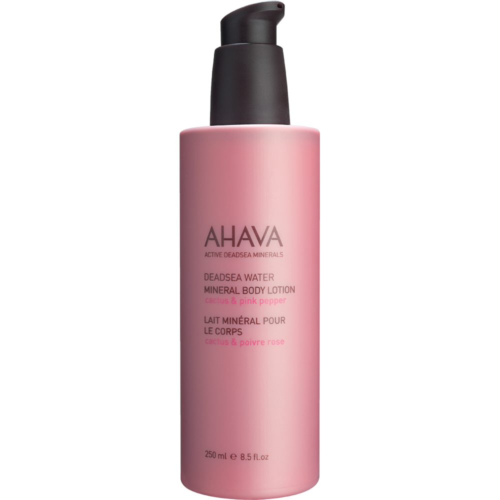 Ahava Mineral Body Lotion Cactus & Pink Pepper