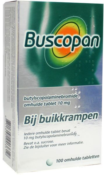 Buscopan 10mg dragee