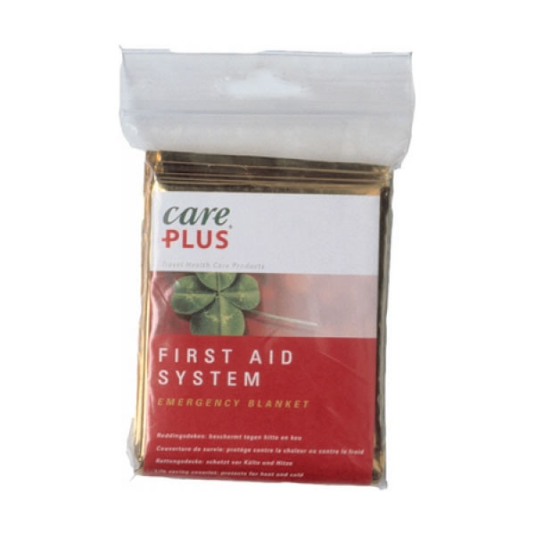 Care Plus First Aid System Emergency Blanket