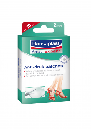 Hansaplast Anti-Druk Patches