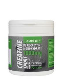 Lamberts Performance Creatine 1000 mg