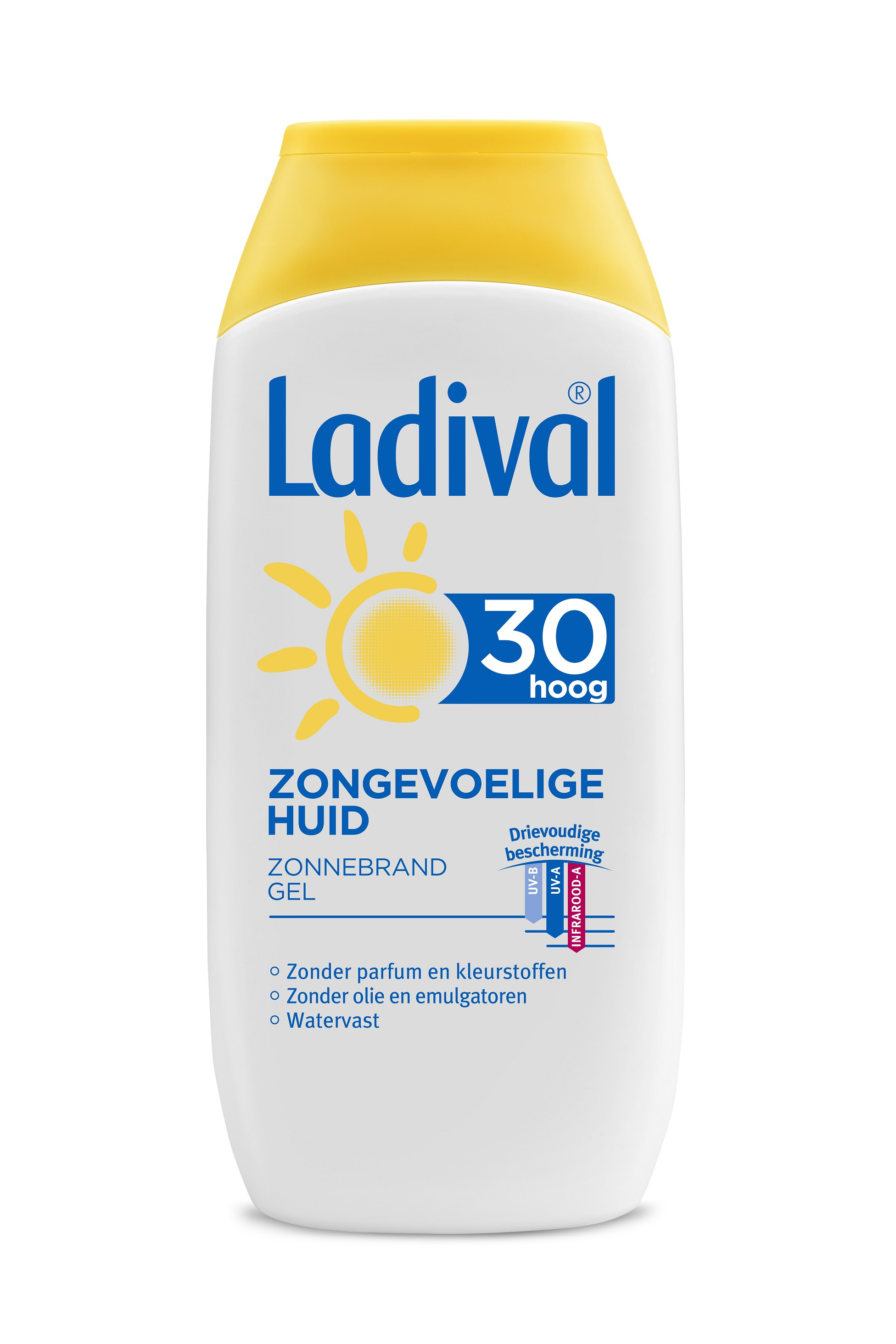 Ladival Zongevoelige Huid gel SPF30 200ml