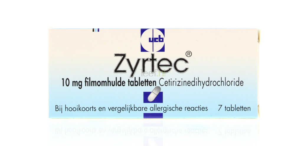 Zyrtec tablet 10mg