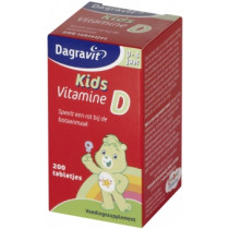 Dagravit Kids Vitamine D tablet