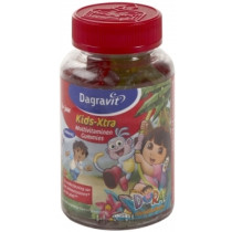 Dagravit Kids-Xtra Multivitaminen Gummies Dora