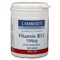 Vitamine B12 Lamberts tablet 100 mcg