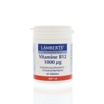 Lamberts Vitamine B12 tablet 1000 mcg