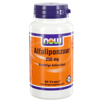 NOW Alfaliponzuur 250mg