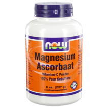NOW Magnesium Ascorbaat Poeder