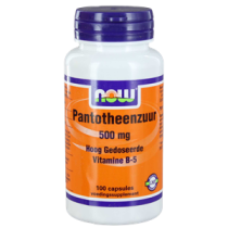NOW Pantotheenzuur 500 mg