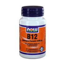 Now Vitamine B12 Geheugen Formule 5000 µg