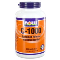 NOW Vitamine C-1000 Sustained Release Met Rozenbottel