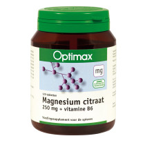 Optimax Magnesium 250 mg + vitamine B6