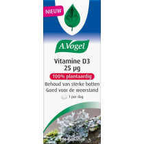 A. Vogel Vitamine D3 25ug 100 tabletten