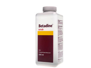 Betadine Scrub 75mg/ml