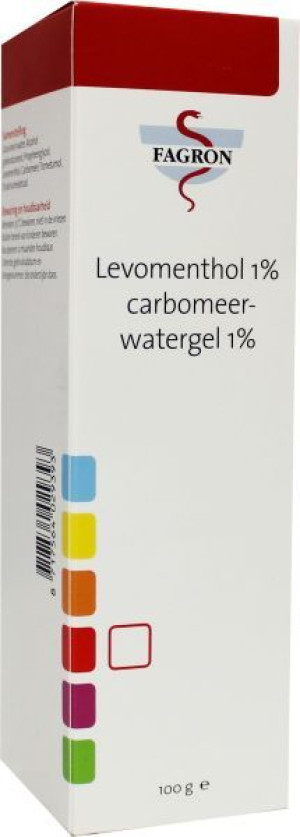 Fagron Levomenthol 1% in Carbomeerwatergel 1%