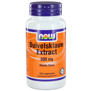 NOW Duivelsklauw Extract 500 mg