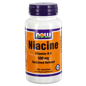 NOW Niacine (VitB3) Sustained Release 500mg