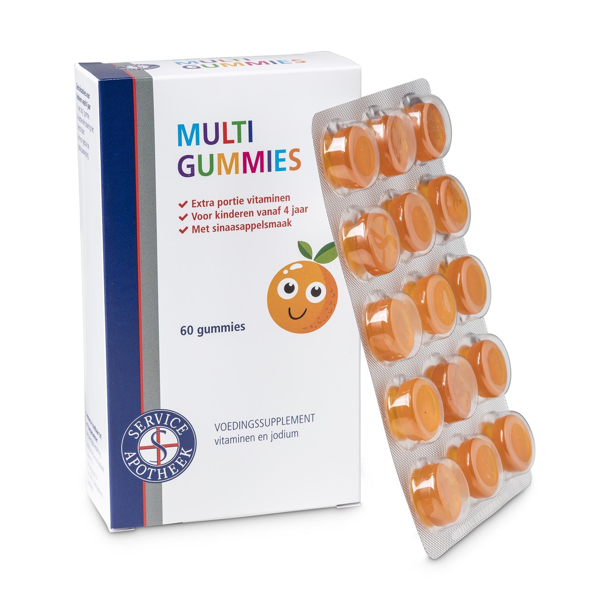 Service Apotheek Multi gummies